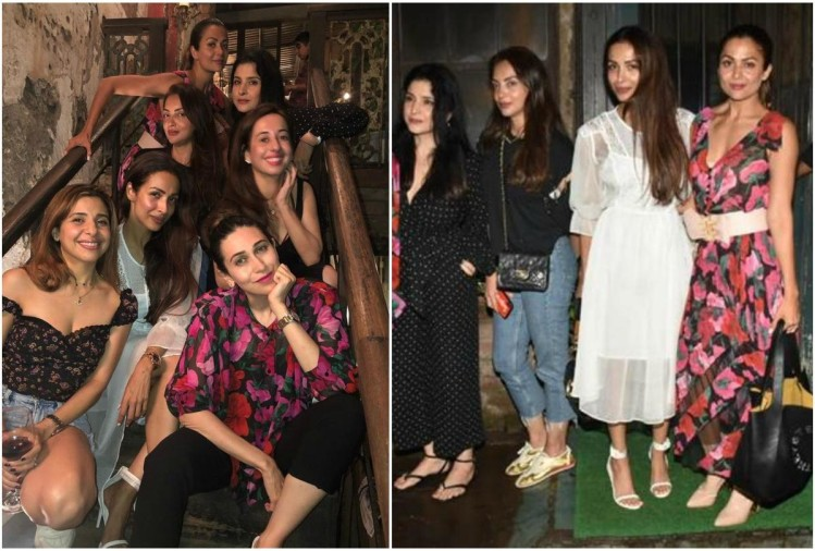 Malaika Arora with girl gang