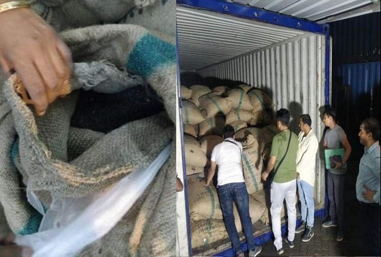 पकड़ी गई 125 करोड़ की हेरोइन: ईरान से मूंगफली तेल की खेप में छिपाकर लाई गई, एक बिजनेसमैन गिरफ्तार