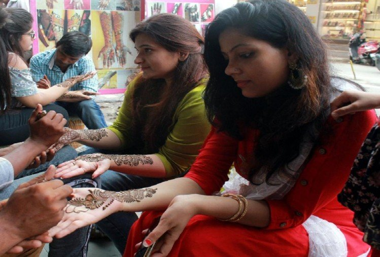 benefits of mehandi in savan 2019