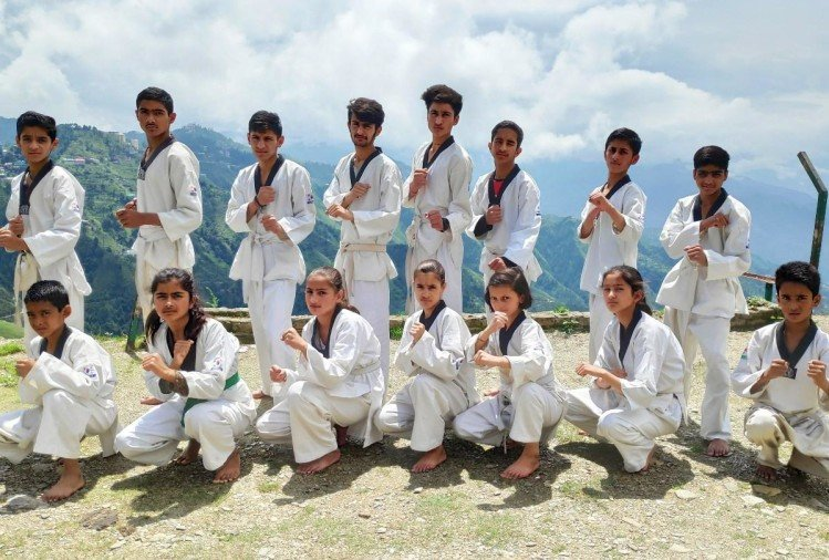 JNV Theog Team selected for national champioship Taekwondo