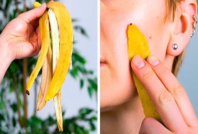 benefits of banana peel for glowing skin