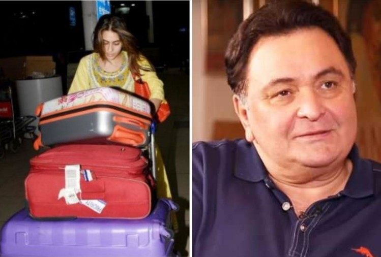 Sara Ali Khan and Rishi Kapoor