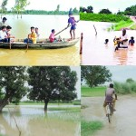 Flood in Bahraich and Barabanki.