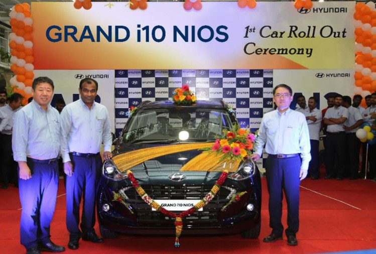 1st GRAND i10 NIOS Roll Out