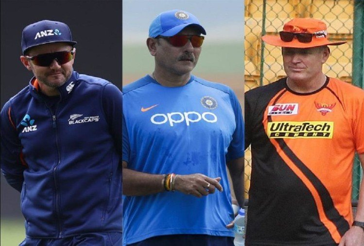 टीम इंडिया के मुख्य कोच की दौड़ में