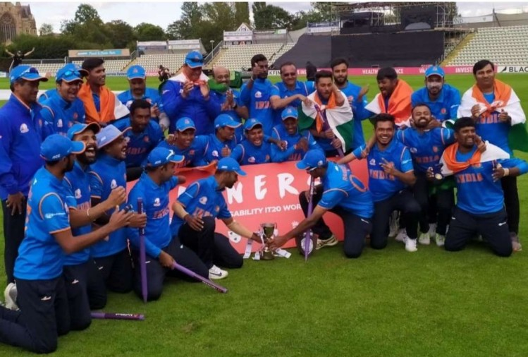 India win Physical Disability World Cricket Series 2019