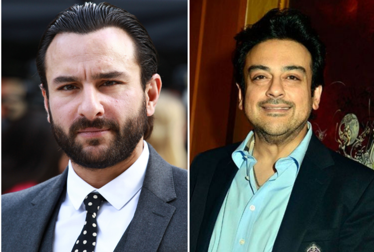 Saif Ali Khan And Adnan Sami