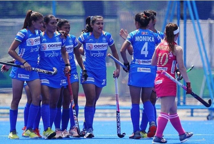 Indian womens hockey team ,olympic test event hockey ,olympic games,भारतीय महिला,हॉकी टीम,जापान,ओलंपिक टेस्ट,इवेंट,आगाज