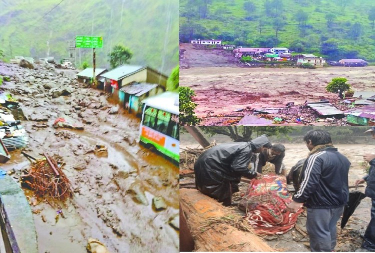 Cloudburst in Uttarkashi Many people Died and missing after heavy water Flood