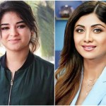 Zaira Wasim and Shilpa Shetty