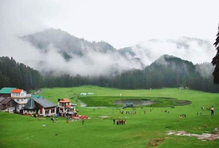 visit khajjiar mini switzerland of india from Delhi distance only 10 hours