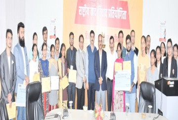 murari lal smriti vad vivad zonal level competition held in shimla himachal