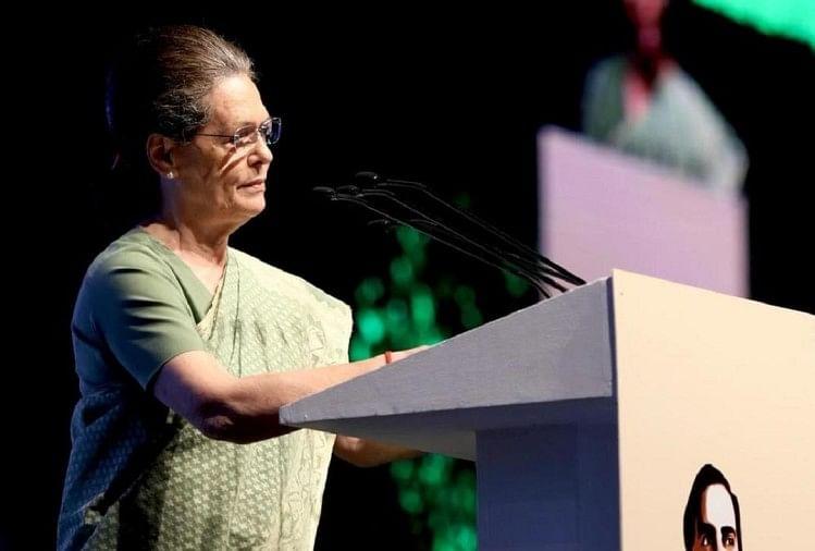 कांग्रेस नेता सोनिया का PM मोदी सरकार पर हमला