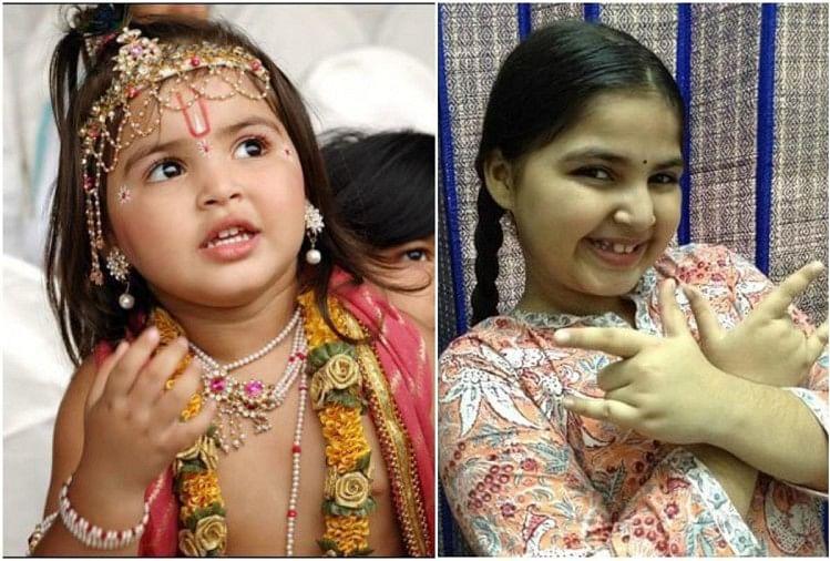 Dhriti Bhatia Played Krishna Role In Jai Shri Krishna Serial Huge ...