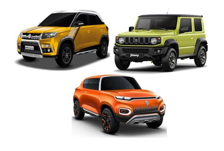 Maruti Suzuki upcoming SUV