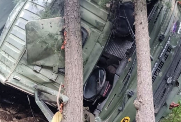 Shimla News: Army Truck Accident in shimla himachal pradesh one killed and three injured
