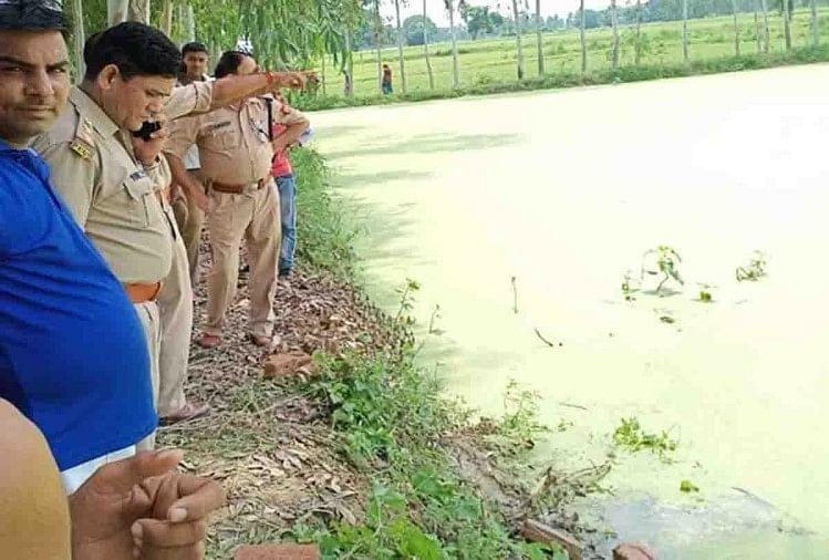 उन्नाव के असोहा थाना क्षेत्र के रामपुर गांव में 3 दिन पहले रहस्यमय हालात में लापता हुए युवक का शव गांव के बाहर तालाब में मिला