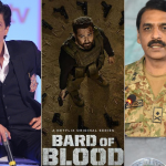 Shah Rukh Khan and Asif Ghafoor