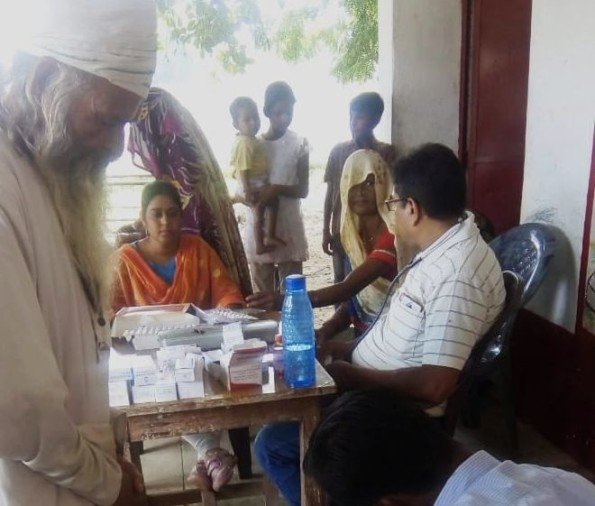 Health teams reached flood-hit villages