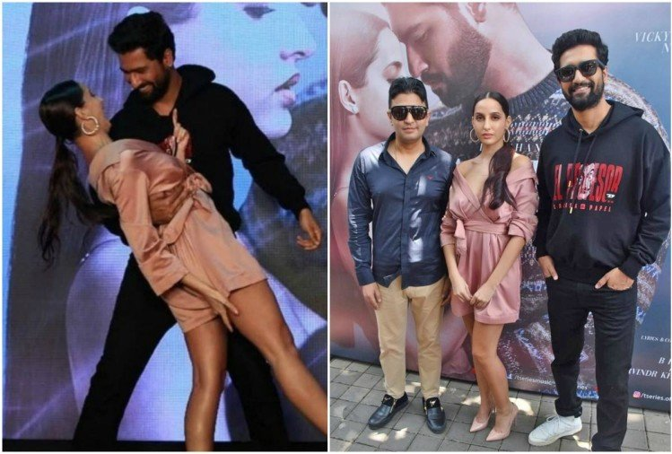 Nora Fatehi and Vicky Kaushal