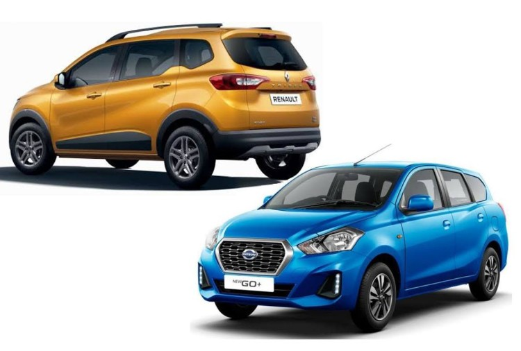 Renault Triber and Datsun GO Plus