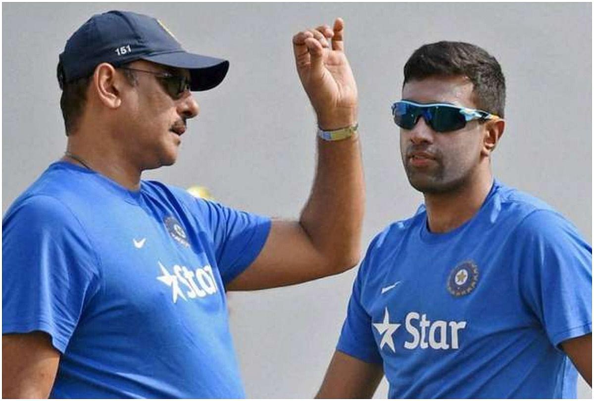 Ravi Shastri And Rabvichandran Ashwin Photo-Social Media