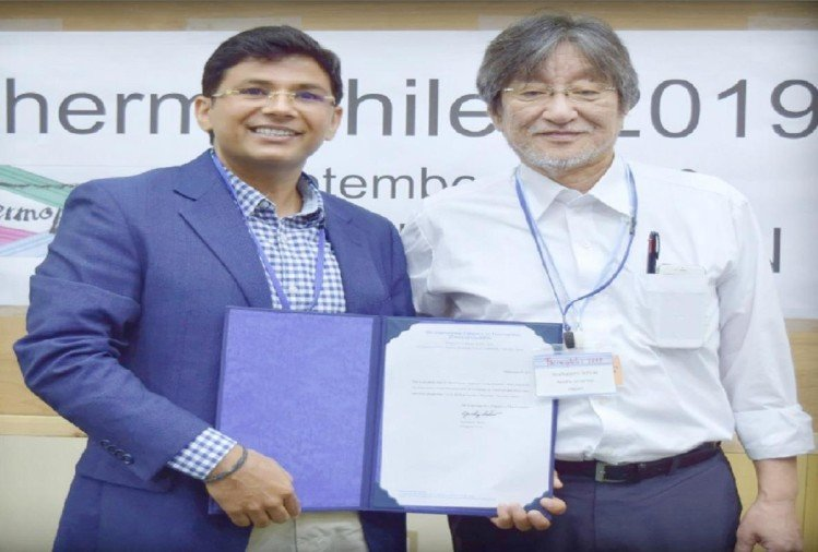 बागपत के डॉ. रामकरण शर्मा को जापान में युवा वैज्ञानिक पुरस्कार मिला