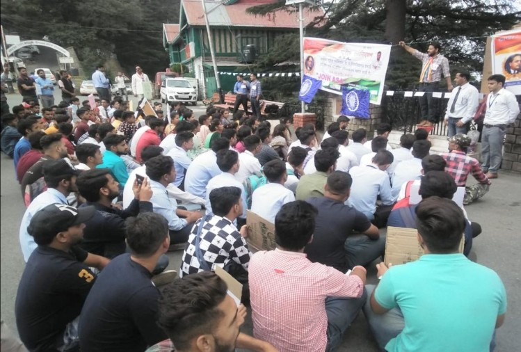 shimla: Students warned of strike if scholarship is not released till 25 sep