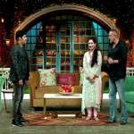 Kapil, Manyata Dutt and Sanjay