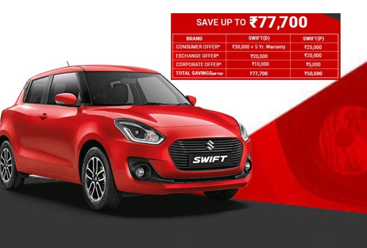 Maruti suzuki Swift best discount
