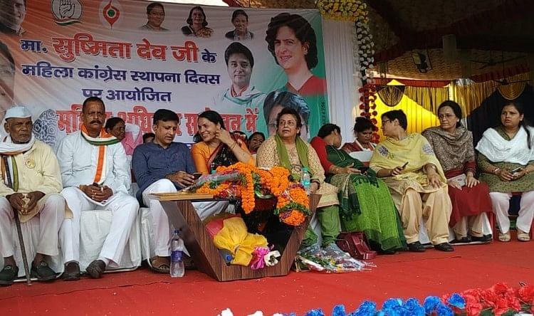 राजनीति में महिलाओं को निभानी चाहिए बढ़ चढ़ कर भागीदारी: सुष्मिता देव