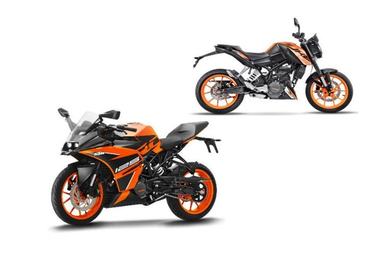 KTM Duke 125 and RC 125 prices hiked