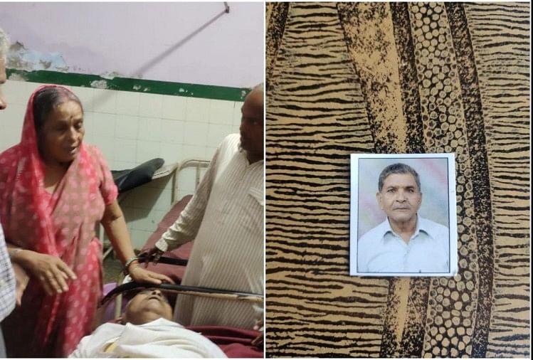 व्यापारी सुरेंद्र कुमार गुप्ता के घर में घुस कर कुछ लोगों ने लूटपाट की कोशिश की और इसी दौरान उसकी हत्या कर दी।