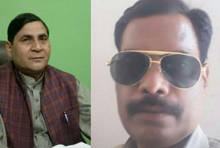 रायबरेली के बछरावां के भाजपा विधायक की धमकी के बाद मंगलवार शाम दरोगा डीके राय बीमार हो गये।