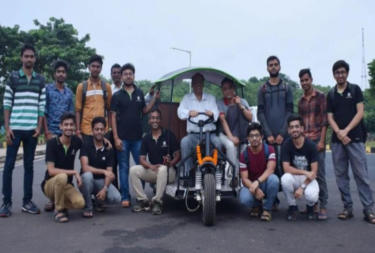 IT KGP students develop new electric vehicle