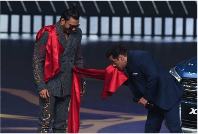 Ranveer Singh and Salman Khan