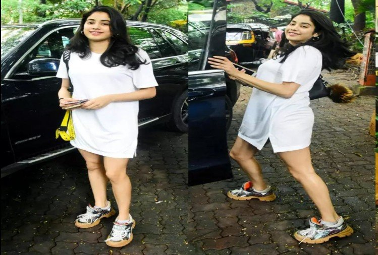 janhvi kapoor gucci brand ugly dad sneakers are too expensive