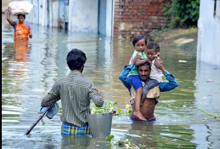 prayagraj me flood