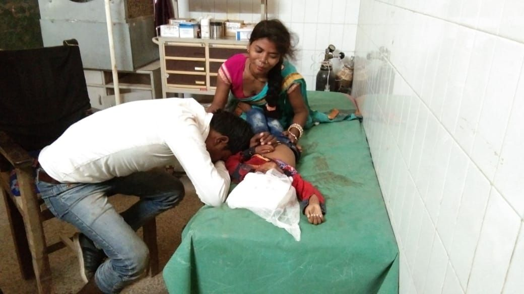Innocent man crushed by tractor in front of father in Prayagraj