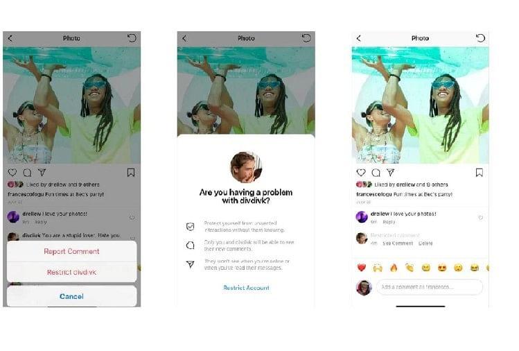 Instagram Restrict