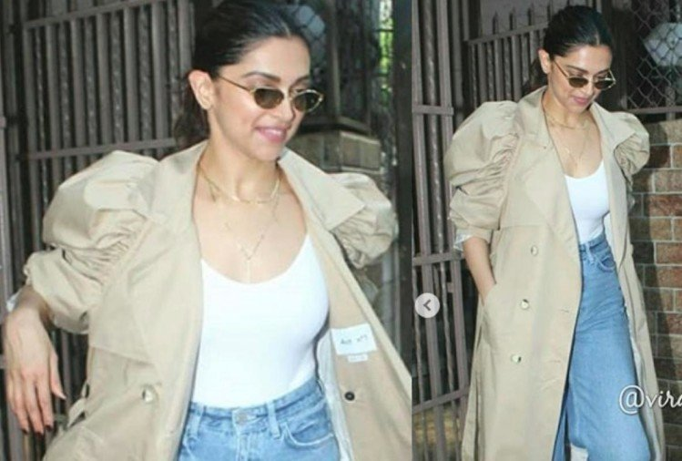 deepika padukone major fashion goals in new trench coat look