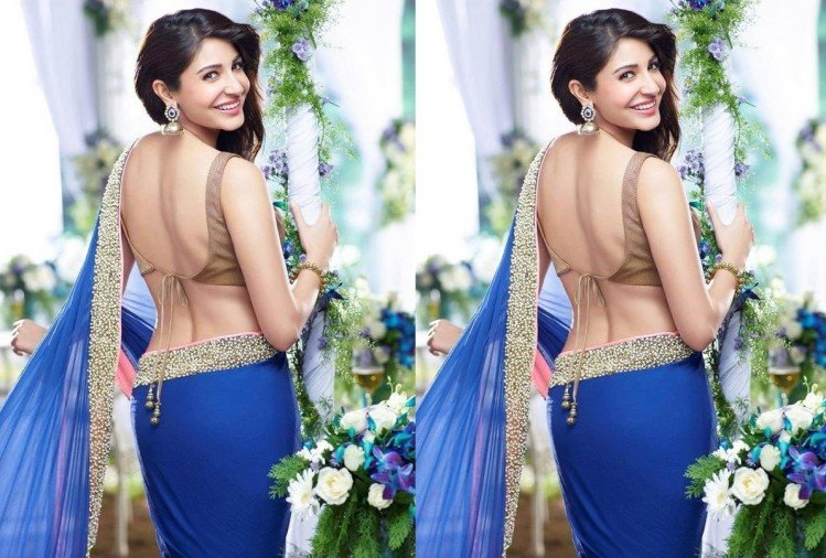 festive season flaunt backless blouse try these tips for shiny and polished back