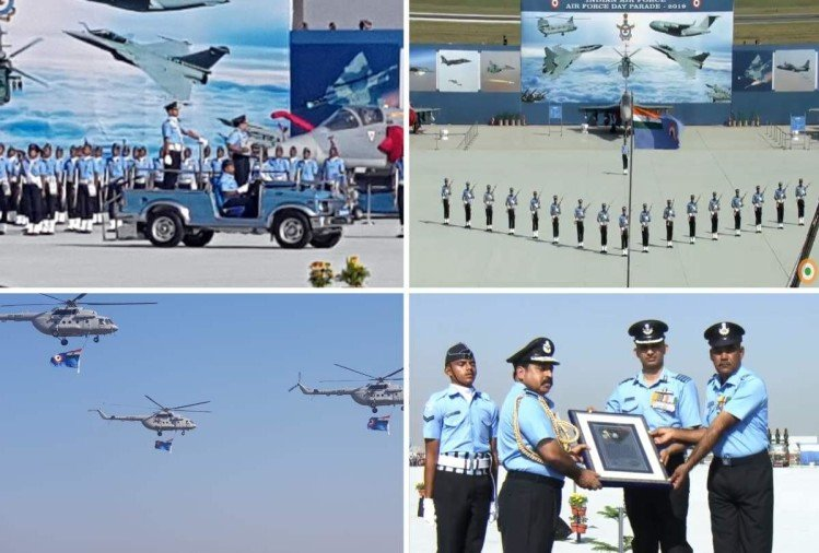 India Air Force Day 2019 Live Updates: Air Force Celebrates 87th IAF Day, Grand Flypast At Display
