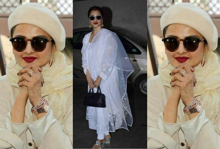 rekha birthday special unseen fashion pictures of evergreen rekha