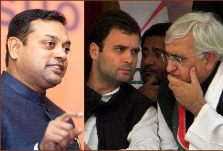 Sambit Patra, Rahul gandhi, Salman Khurshid