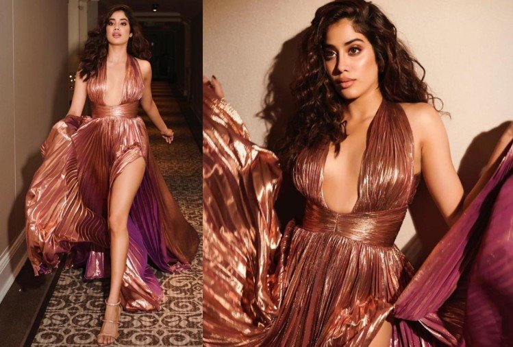 janhvi kapoor bold avatar for elle beauty awards 2019
