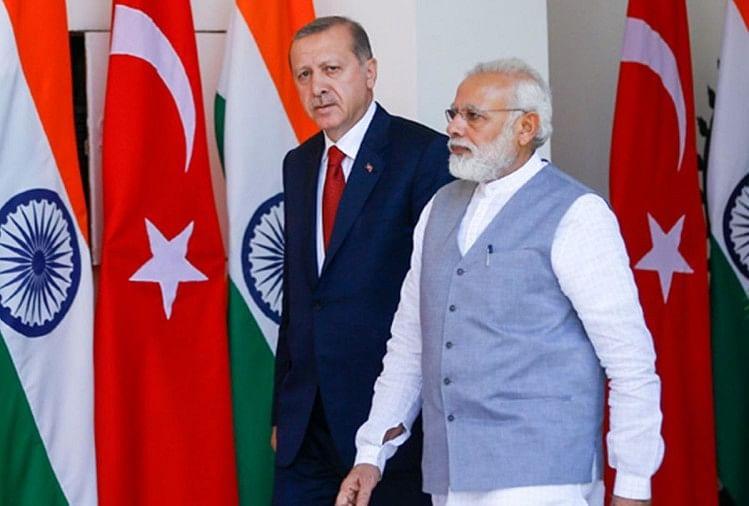 Recep Tayyip Erdogan Narendra Modi