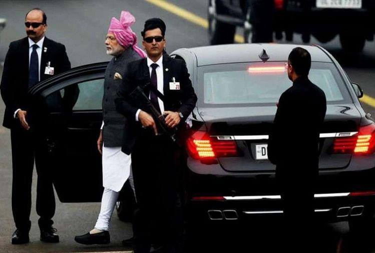 PM Modi Car