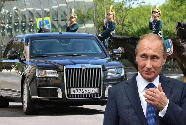 Russia president, vladimir putin car