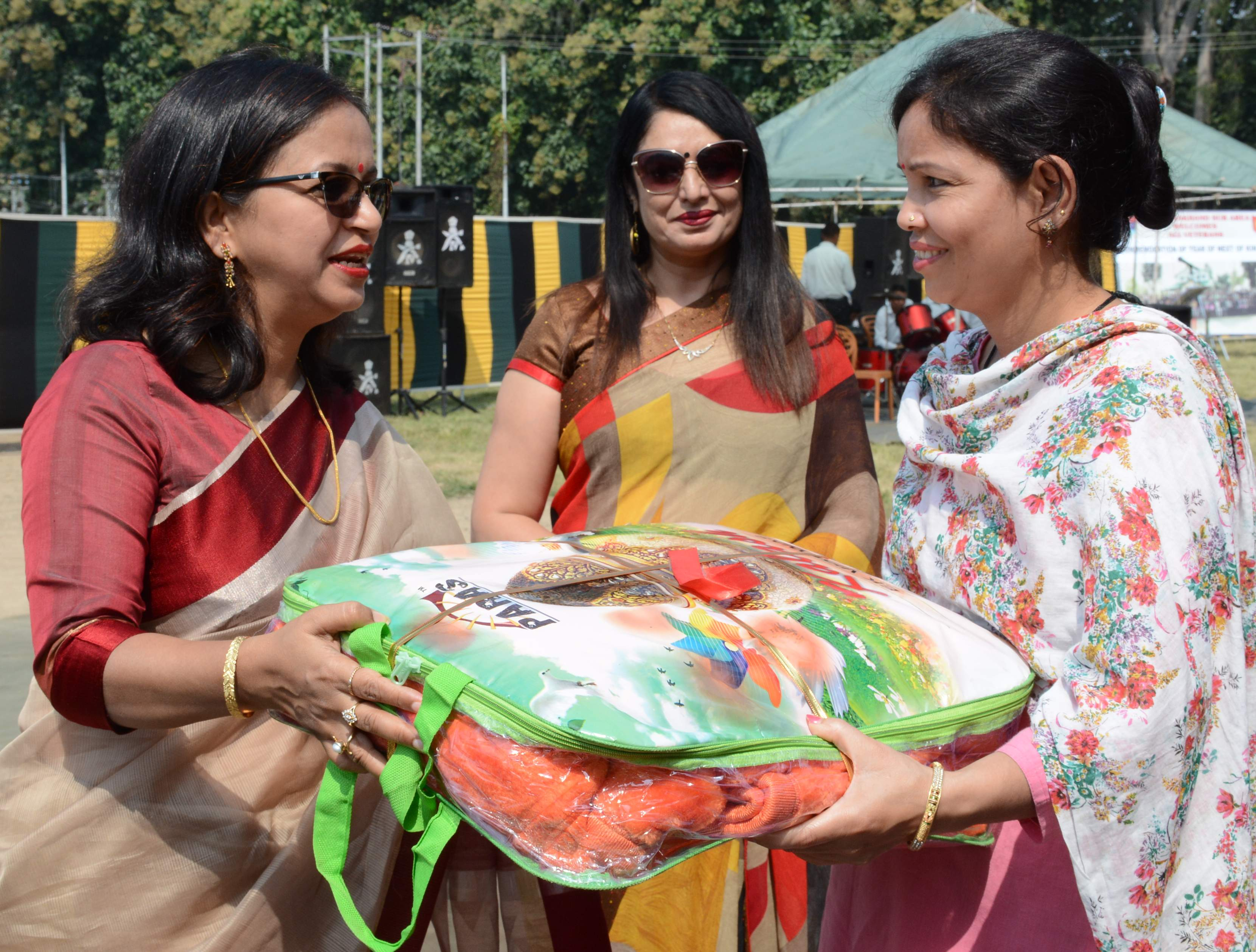 कौलागढ़ स्थित शहीद जसवंत सिंह ग्राउंड में आयोजित कार्यक्रम में वैटरन, वीर नारी को सम्मानित करती?
